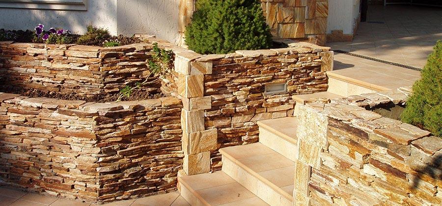 Тротуарная плитка - Декоративный природный камень